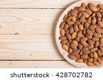 almonds. | Shutterstock . vector #428702782