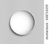 vector round plate illustration ... | Shutterstock .eps vector #428713255