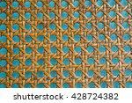 Wooden Bamboo Mesh Texture ...