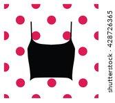 lingerie. bra. underwear. crop... | Shutterstock .eps vector #428726365