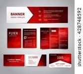 banner  flyers  brochure ... | Shutterstock .eps vector #428748592