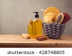 cosmetic spa and personal... | Shutterstock . vector #428748805