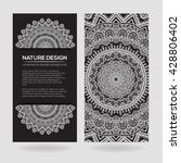 vector nature decor for your... | Shutterstock .eps vector #428806402