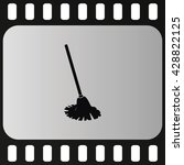 mop icon. floor cleaning object.... | Shutterstock .eps vector #428822125