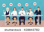 group of professional... | Shutterstock .eps vector #428843782