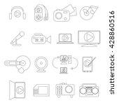 multimedia set. multimedia set...