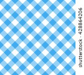 blue and white tablecloth...   Shutterstock .eps vector #428864206