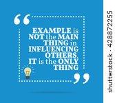 inspirational motivational... | Shutterstock .eps vector #428872255
