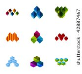 design elements   set 98 | Shutterstock .eps vector #42887467