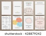 corporate identity vector...   Shutterstock .eps vector #428879242