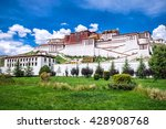 potala palace in lhasa  tibet | Shutterstock . vector #428908768