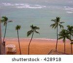 waikiki beach | Shutterstock . vector #428918