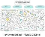 vector horizontal banner...   Shutterstock .eps vector #428925346