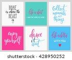 lettering vector postcard... | Shutterstock .eps vector #428950252