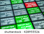 Stock photo forex trading floor trading on the currency exchange forex forex board with price for usd eur 428955526