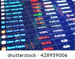 stock market abstract... | Shutterstock . vector #428959006