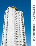 tower block housing | Shutterstock . vector #428961856