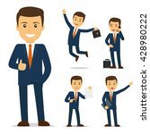 businessman cartoon character... | Shutterstock .eps vector #428980222