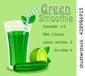 vector illustration of green...   Shutterstock .eps vector #428986915