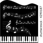 music | Shutterstock .eps vector #4290187