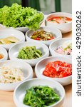 Small photo of Korean side dishes