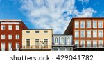 colorful architecture in the... | Shutterstock . vector #429041782