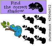 children games  find the... | Shutterstock .eps vector #429046912