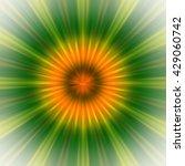 burst green square pattern... | Shutterstock . vector #429060742