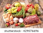 organic food | Shutterstock . vector #429076696