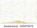 golden confetti | Shutterstock .eps vector #429079672