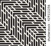 vector seamless black and white ... | Shutterstock .eps vector #429111256