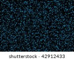 blue disco lights | Shutterstock .eps vector #42912433