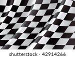checkered flag  vector... | Shutterstock .eps vector #42914266