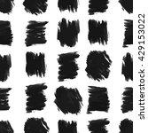 seamless background of black... | Shutterstock .eps vector #429153022