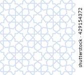 abstract pattern in arabian... | Shutterstock .eps vector #429154372