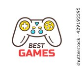 games store or developers... | Shutterstock . vector #429192295