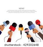 news banner poster template... | Shutterstock .eps vector #429202648