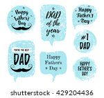 happy father's day  you're the... | Shutterstock .eps vector #429204436