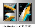 brochure template  flyer design ...   Shutterstock .eps vector #429221512