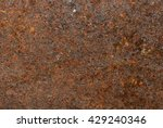 rust backgrounds   close up of... | Shutterstock . vector #429240346