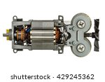 Small Electric Motor With Fan ...