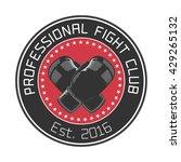 boxing club vector logo  emblem ...