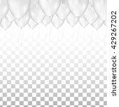 ceiling covered in white... | Shutterstock .eps vector #429267202
