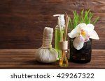 spa treatment on wooden... | Shutterstock . vector #429267322