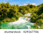 Water Fall Of The Krka Nationa...