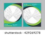 vector of abstract green...   Shutterstock .eps vector #429269278