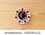 traditional turkish tea on a... | Shutterstock . vector #429291112