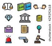 law  | Shutterstock .eps vector #429292618