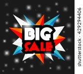 big sale. background of...   Shutterstock . vector #429294406