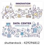 vector creative concept... | Shutterstock .eps vector #429296812